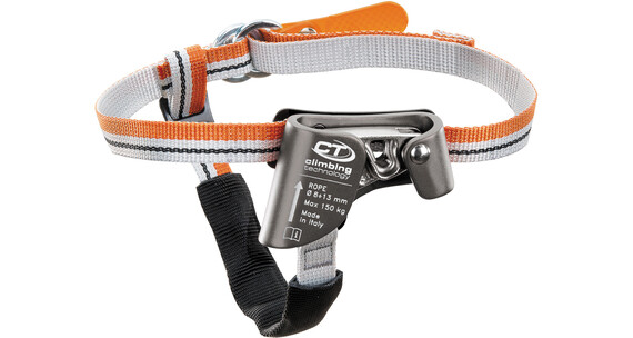 Climbing Technology Quick Step S Rebklemmer Left Foot grå/orange